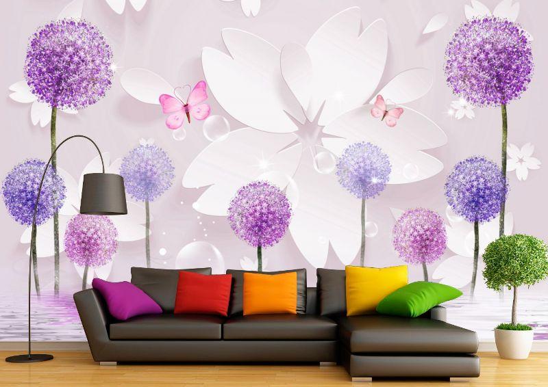 эскиз летние цветы для фотопечати