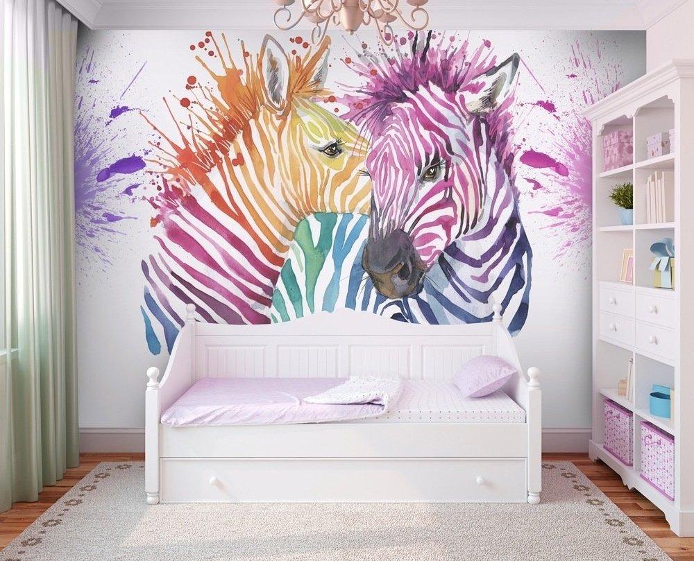 ART-028 Акварельные зебры