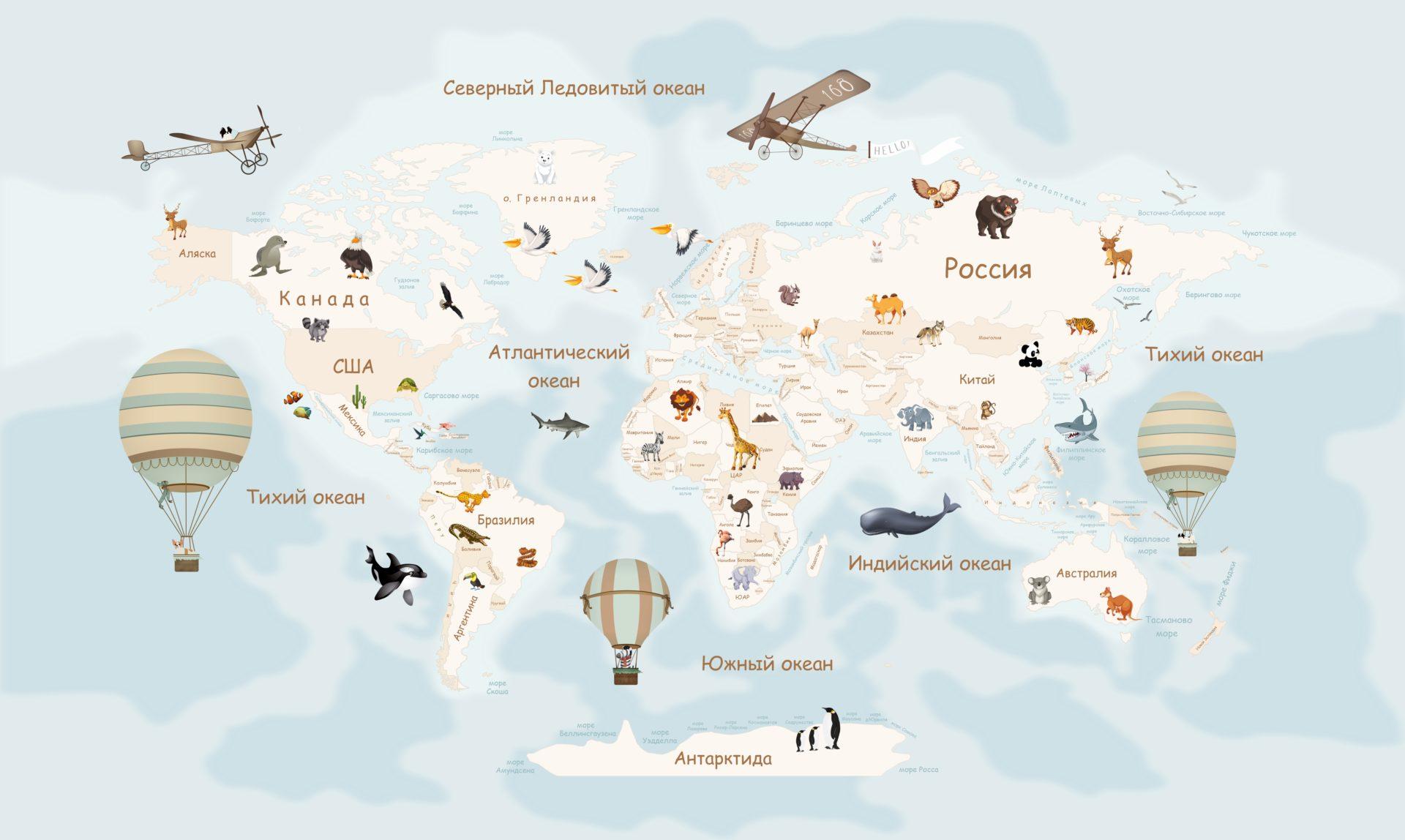 эскиз с изображением карты