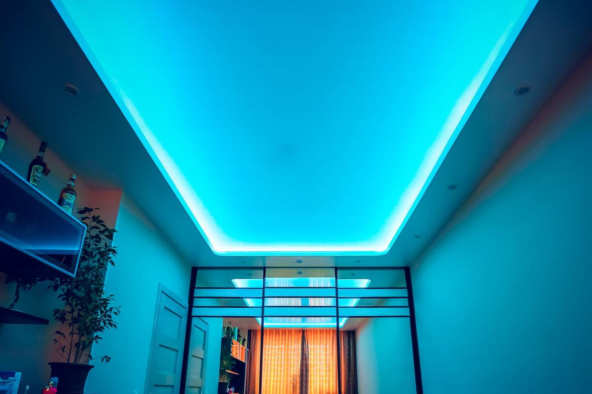 светодиодные потолки