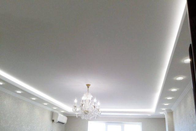светильники для двухуровневых потолков