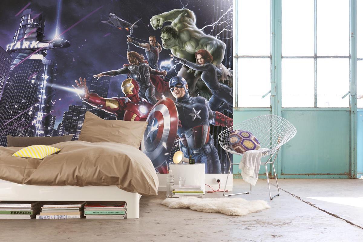 фотообои супергерои марвел